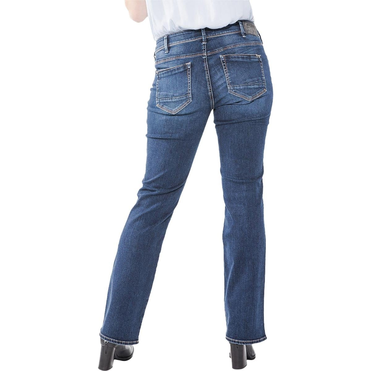 d34b52a1 Shop Silver Jeans Co. Womens Plus Suki Slim Bootcut Jeans Curvy Fit Indigo  Wash - Free Shipping On Orders Over $45 - Overstock - 22989245