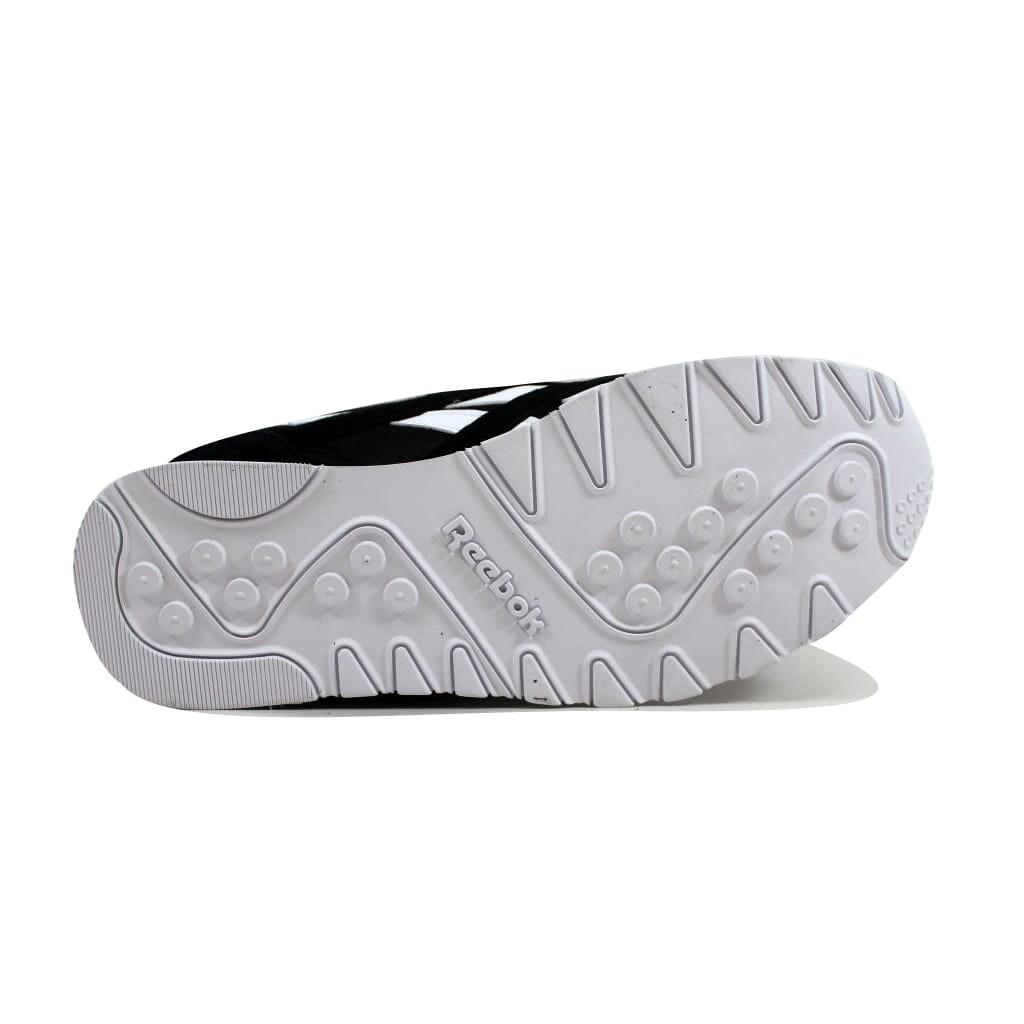 dc7d6ba4bc2b3 Shop Reebok Men s Classic Nylon Black White 6604 - Free Shipping Today -  Overstock - 23436999