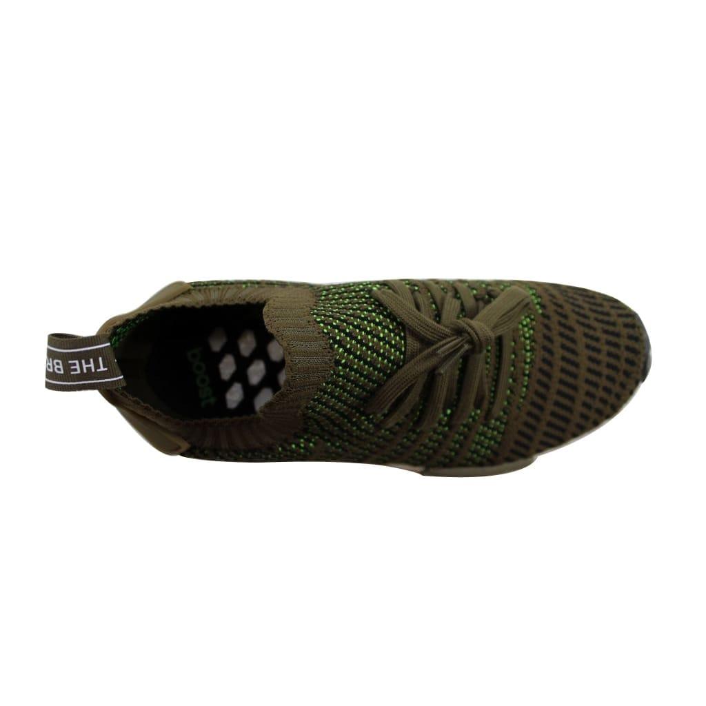 dd6ebfe2f Shop Adidas Men s NMD R1 STLT PK Trace Olive Black-Solar Slime CQ2389 -  Free Shipping Today - Overstock - 23436862