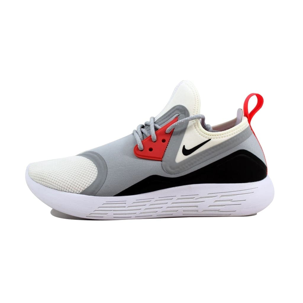 79cf49c338db7 Shop Nike Women s Lunarcharge BN Wolf Grey White-Black nan 933797-010 -  Free Shipping Today - Overstock - 22919569