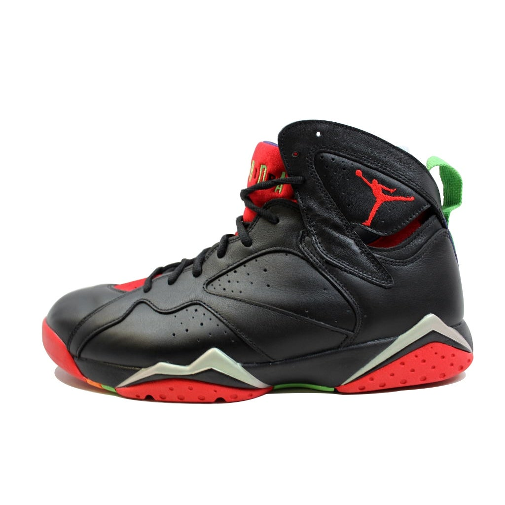 buy online a8e33 a8081 Shop Nike Men s Air Jordan VII 7 Retro Black University Red-Green Pulse-Grey  Marvin The Martian 304775-029 - Free Shipping Today - Overstock - 19508012