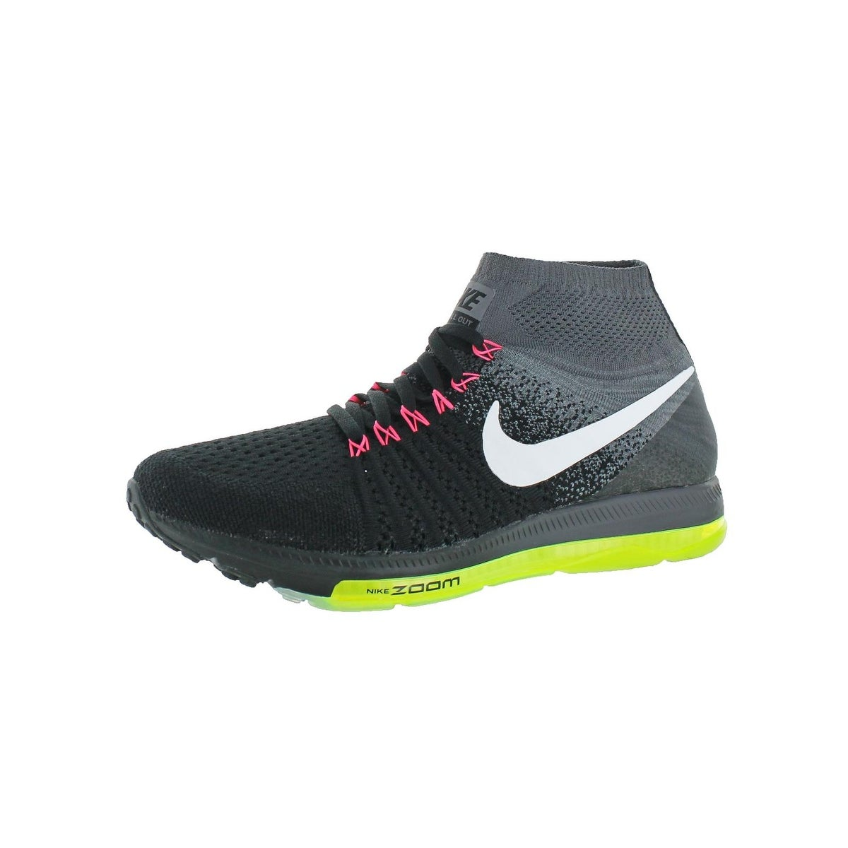 finest selection 4aa6c 3d05b Nike Mens Zoom All Out Flyknit Running Shoes Run Fast Training