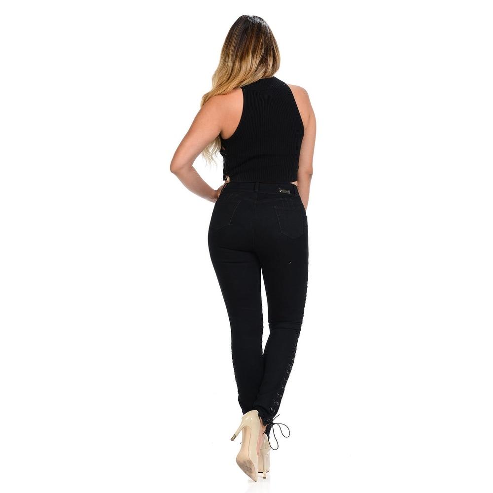 e65118d52bc Shop M.Michel Women s Jeans Colombian Design