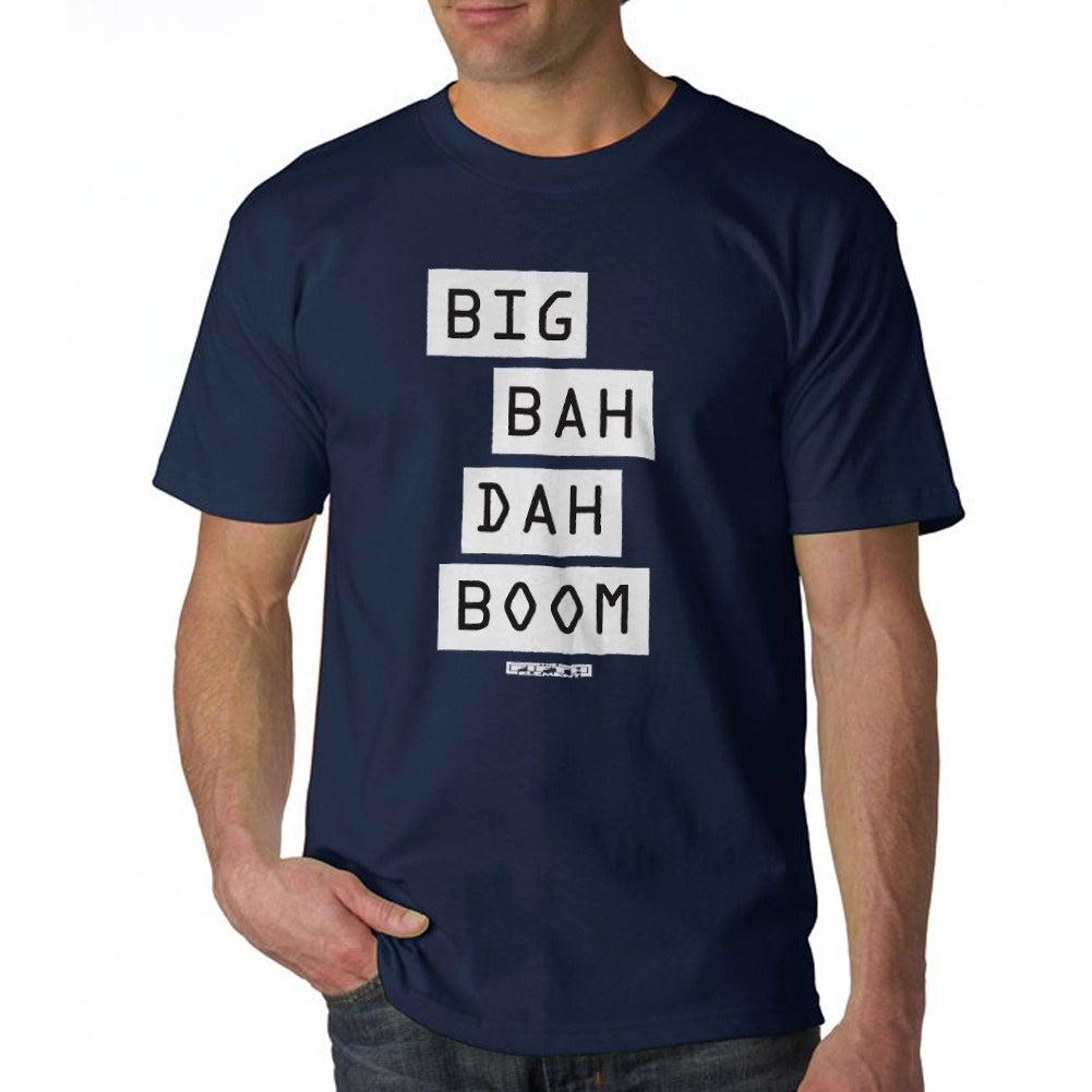 The Fifth Element Big Bah Dah Boom Mens Navy T Shirt Free