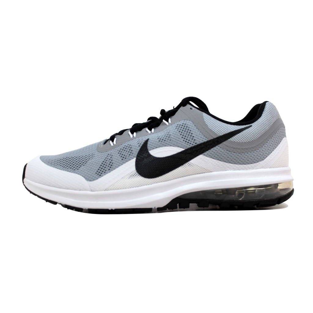 the latest 22658 1f35a Shop Nike Men s Air Max Dynasty 2 Wolf Grey White-Black 852430-002 - Free  Shipping Today - Overstock - 20140612
