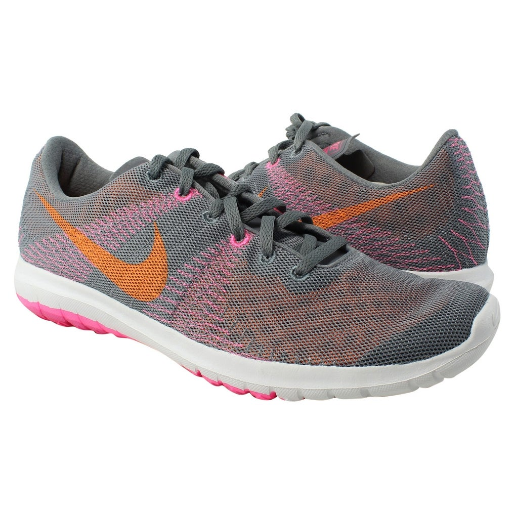 35fe118f5fa1 Shop Nike Womens Flex Fury Gray Running Shoes Size 11 - Free ...