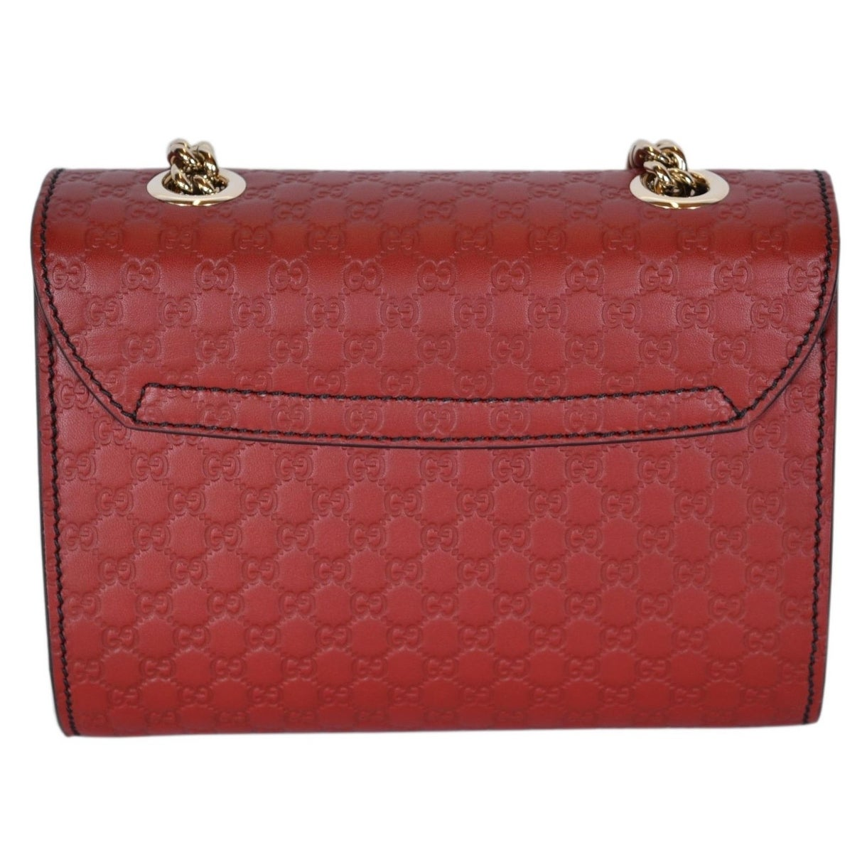 f52227bcc04b Shop Gucci 449636 Red Micro GG Guccissima Leather MINI Emily Crossbody Purse  - Free Shipping Today - Overstock - 20919619