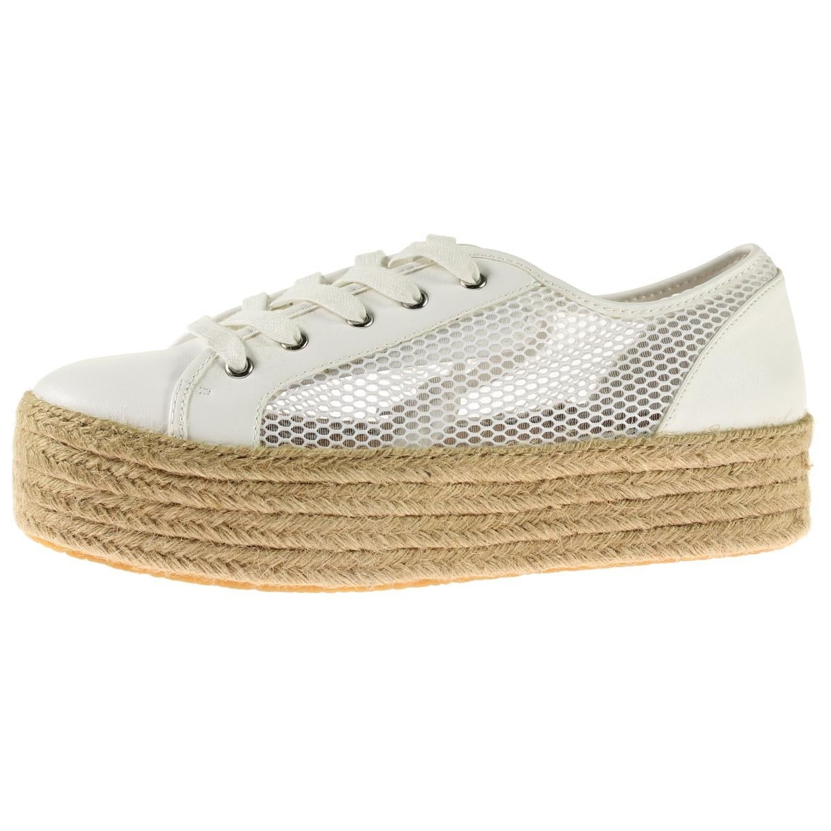 a2af39995dd Shop Steve Madden Womens Mars Fashion Sneakers Espadrille Platform - Free  Shipping On Orders Over  45 - Overstock - 20199726