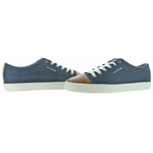 d4b1dcec3c77c2 Shop Tommy Hilfiger Parma 2 Men s Canvas Fashion Sneakers Shoes - Free  Shipping On Orders Over  45 - Overstock - 20033517