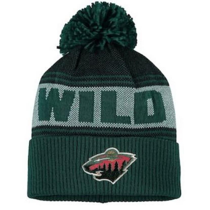 6baa78e2633 Shop Adidas Men s NHL Minnesota Wild Stocking Knit Hat Beanie Winter Green  11FMZVWILD - Free Shipping On Orders Over  45 - Overstock - 26051682