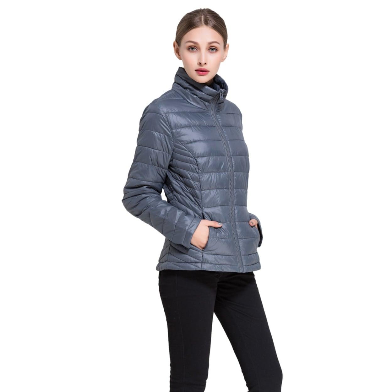 95e8cf946e0e8 Shop Bel-Air Women's Goose Down Lightweight Puffer Jacket - Extended ...