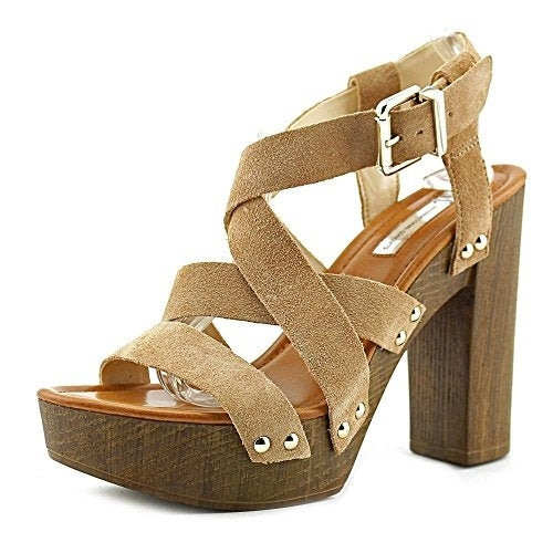 Shop INC International Concepts Womens Camira Leather Open Toe Ankle Strap  Platfor...   Free Shipping On Orders Over $45   Overstock.com   14526172