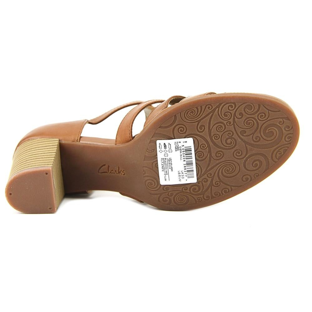 42323bbf3819 Shop Clarks Ciera Gull Women Open Toe Leather Tan Sandals - Free Shipping  On Orders Over  45 - Overstock - 18914493