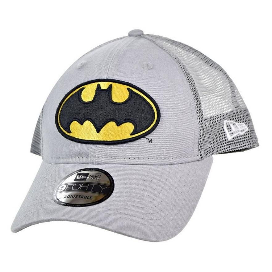 c9aee207b68aa New Era Batman Superhero Baseball Cap Hat Trucker Washed 9Forty 940 80470693