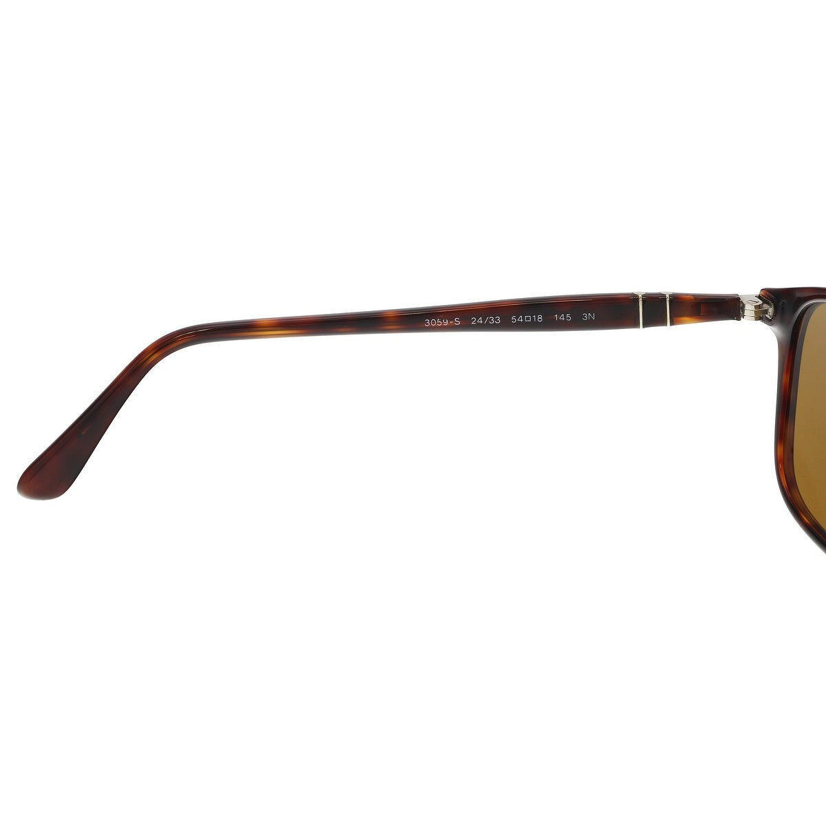 d9ef978cf9 Shop PERSOL PO3059S 24 33 Havana Rectangle Sunglasses - 54-18-145 - Free  Shipping Today - Overstock - 21158180