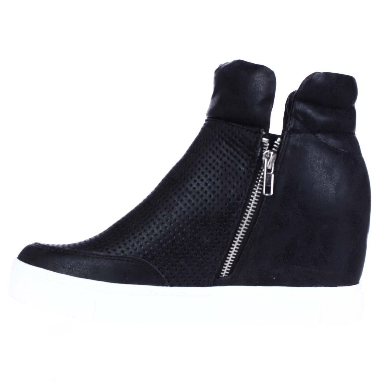 7c17536198d Shop Steve Madden Linqsp Perforated Wedge Fashion Sneakers