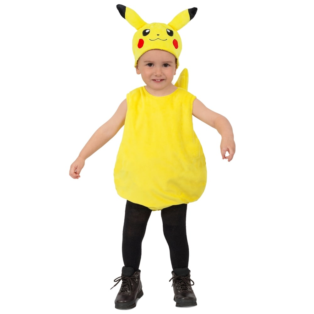 shop kids pokemon pikachu plush halloween costume - free shipping
