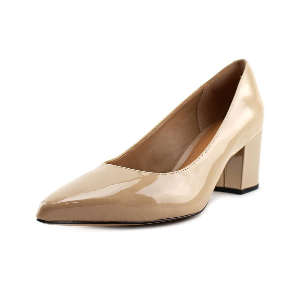 0270e2509bf21 Clarks Artisan Pravana Rose Women Open Toe Patent Leather Nude Platform Heel