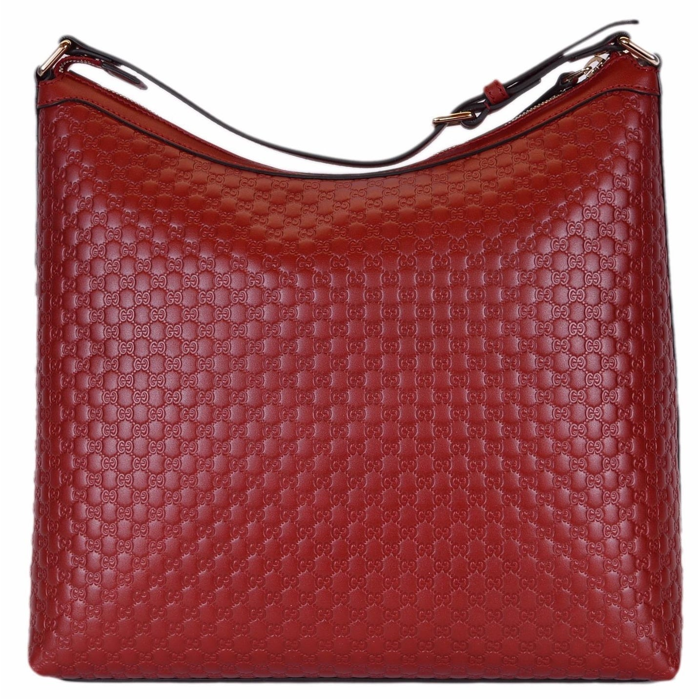 New Gucci 449732 Red Micro Gg Guccissima Leather Purse Hobo Handbag 13 5 X Free Shipping Today 17909261