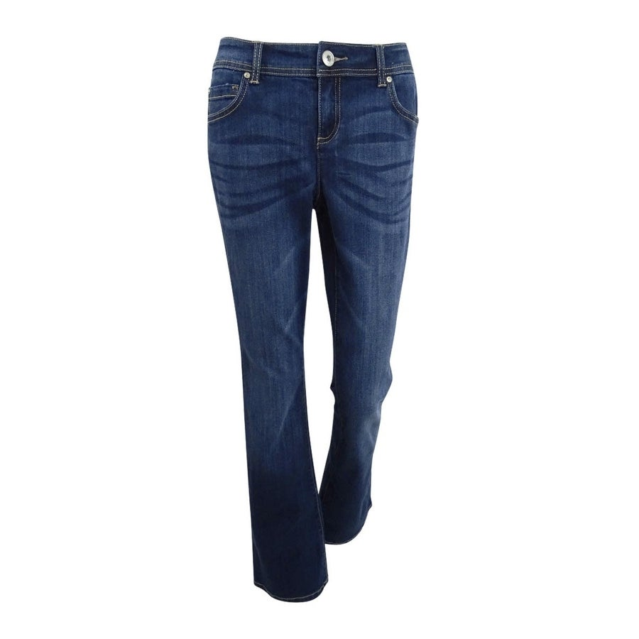 700e408806cb2 Shop INC International Concepts Women s Curvy Bootcut Jeans - Indigo - On  Sale - Free Shipping On Orders Over  45 - Overstock - 26398437