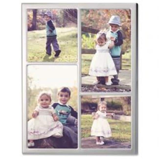 LawrenceFrames 710688 8 x 8 in. Standard Picture Frame, Silver ...