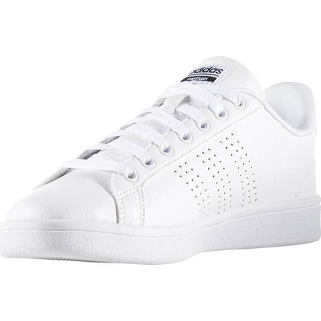 Shop adidas Women s NEO Cloudfoam Advantage Clean Court Shoe FTWR  White FTWR White Core Black - Free Shipping On Orders Over  45 - Overstock  - 14336693 02f8d567e