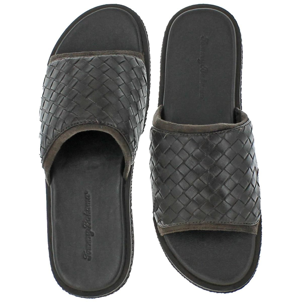 3c91964e028f9c Shop Tommy Bahama Mens Land Crest Slide Slide Sandals Casual Summer - 10  medium (d) - Free Shipping Today - Overstock - 22985296