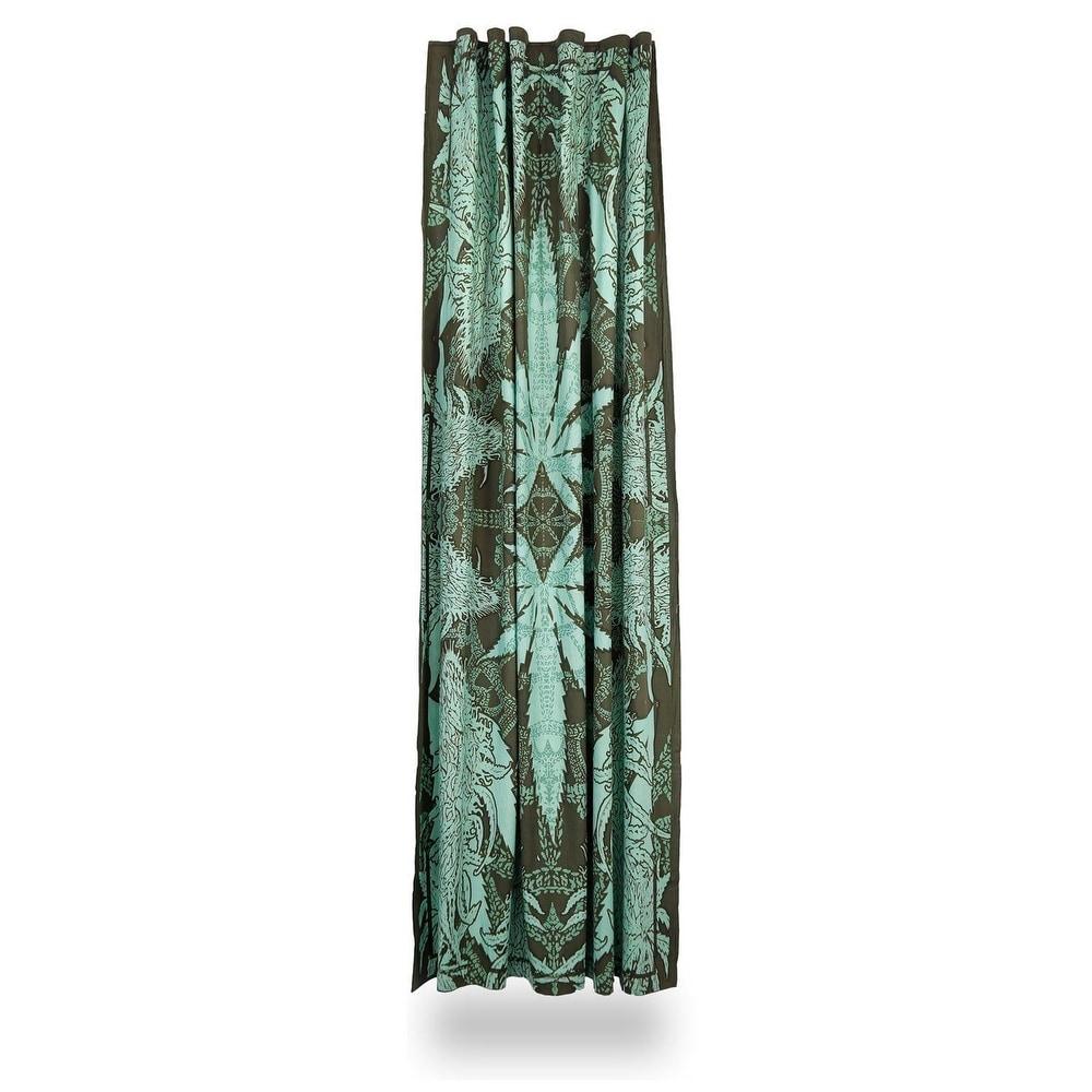 Shop Handmade Cotton Hempest Marijuana Leaf Weed Curtain Drape Panel
