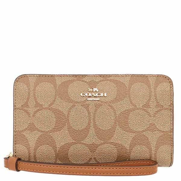 1cd49300274b ... khaki petal pink 04184 8379a  coupon for shop coach signature pvc phone  women wallet free shipping today overstock 18696574 85bd9 38897