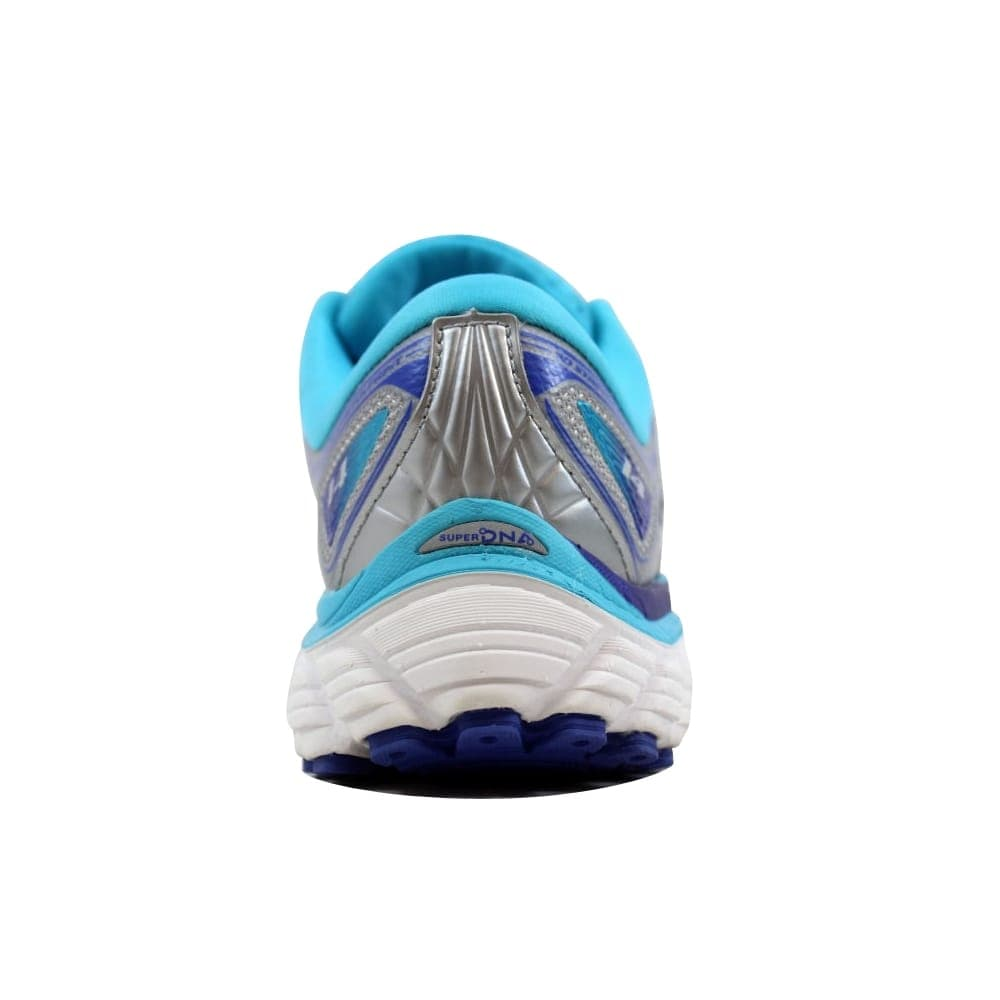 7fc98b96982 Shop Brooks Glycerin 14 Silver Blue Atoll-Lime Punch 120217 1B 151 Women s  - Free Shipping Today - Overstock - 27483447