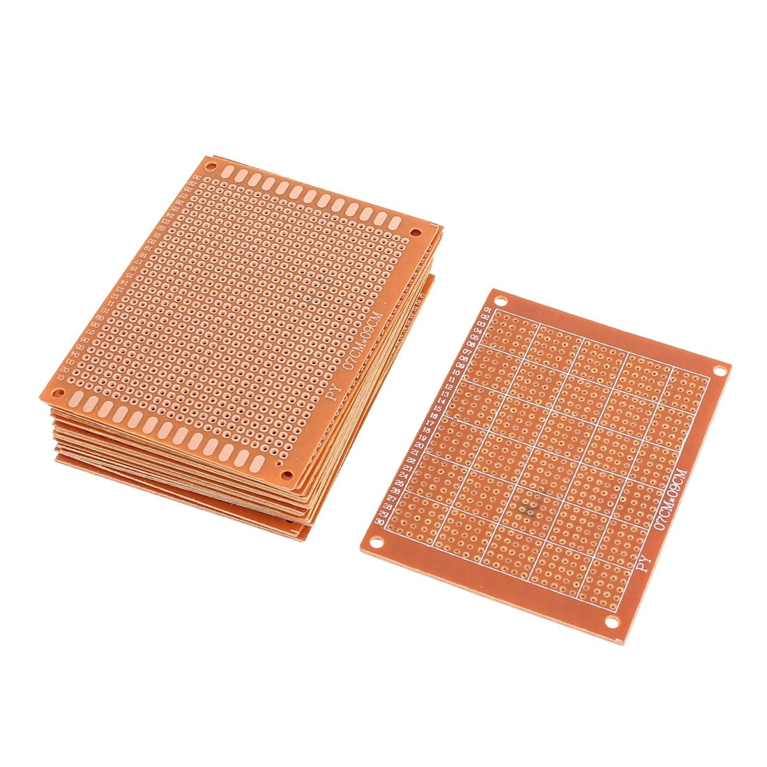 Shop 16 Pcs Prototype Universal Pcb Print Circuit Board 7cm X 9cm How To Without Using Printed Boards 6 Brass Tone On Sale Free Shipping Orders Over 45 24560547