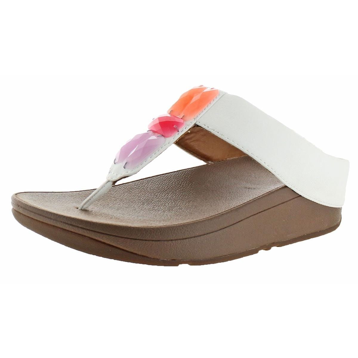f21b850f5e7ac0 Shop Fitflop Womens Sweetie Thong Sandals Man Made Slip On - On Sale ...