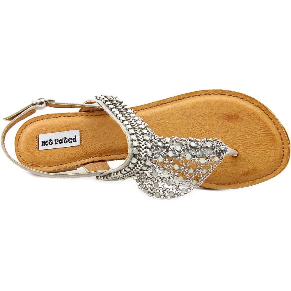 c4eac511e9d641 Shop Not Rated Gem Women Silver Sandals - Free Shipping On Orders Over  45  - Overstock - 15964850