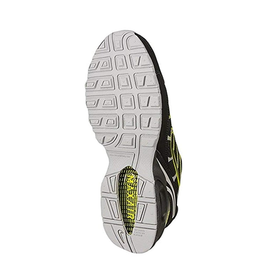 da05dbdd223 Shop Nike Air Max Torch 4 Men s Running Shoe Black Volt-Atmosphere Grey