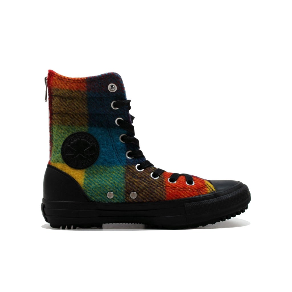 0ef92c2dbc74b3 Shop Converse Women s Chuck Taylor Hi Rise Boot Yellow Bird Wool Multi  Color 549687C Size 6.5 - Free Shipping Today - Overstock - 19507630