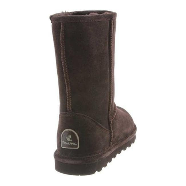 25f84d5a38eb Shop Bearpaw Women s Elle Short Wide Boot Chocolate Suede - On Sale - Free  Shipping Today - Overstock - 23559115