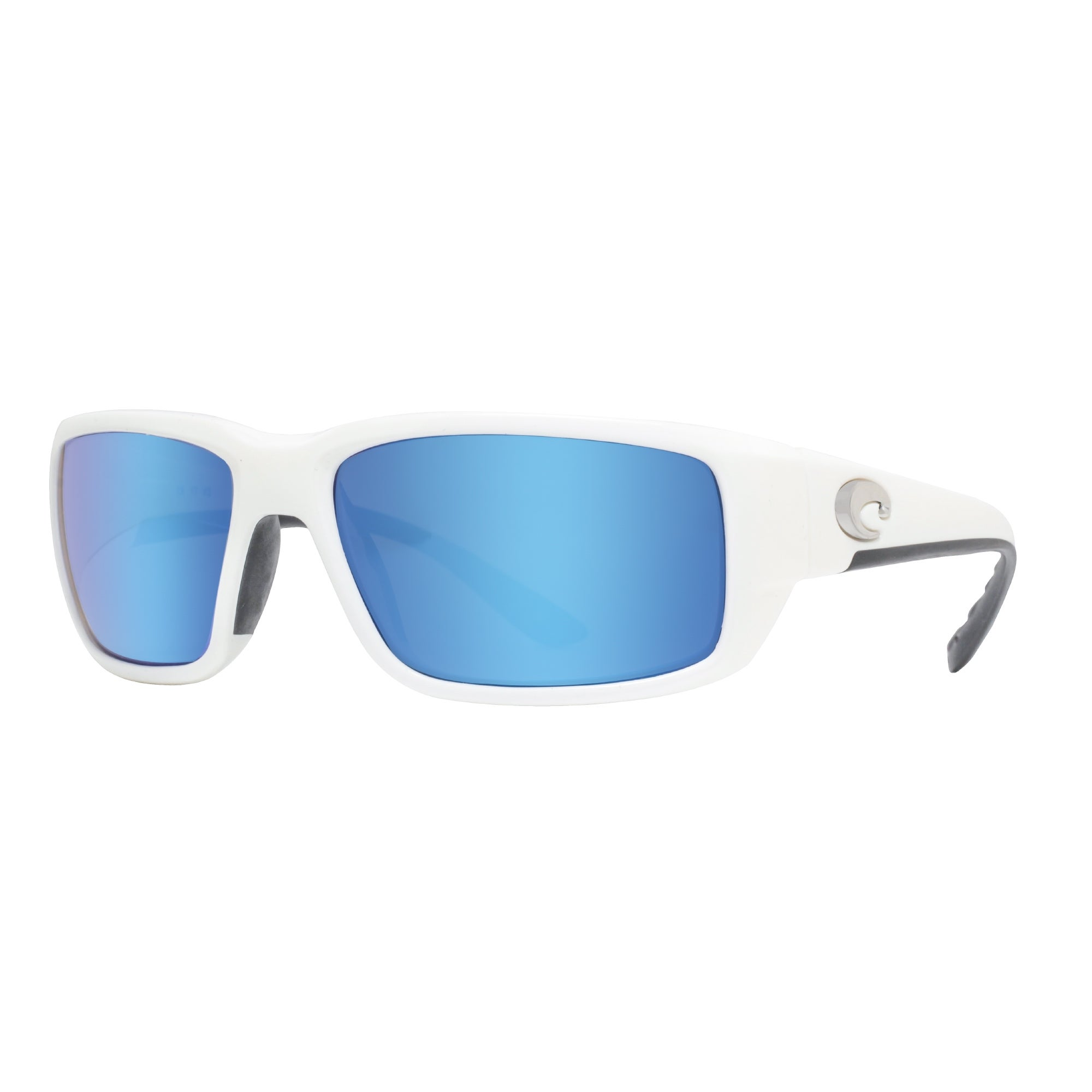 68cacdedb01 Costa Del Mar Fantail 580G White Blue Mirror Sunglasses TF25OBMGLP -  59mm-18mm-120mm