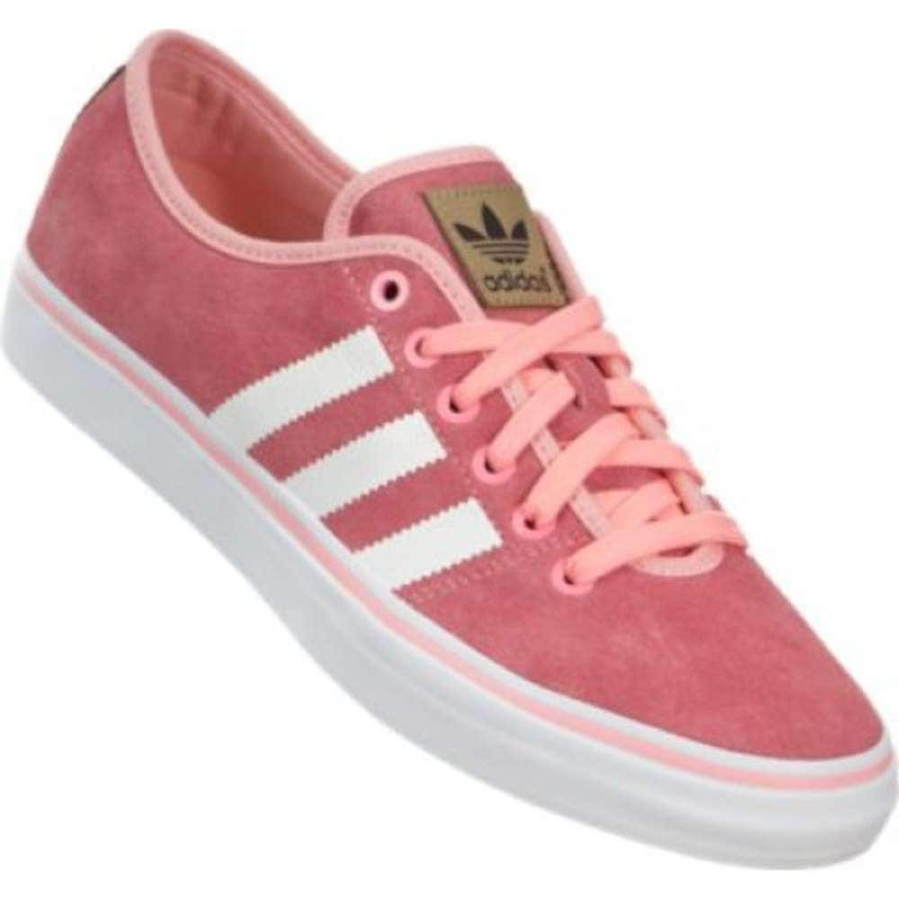 c0afe9204451 Shop Adidas Womens Adria Lo Low Top Lace Up Fashion Sneakers - Free  Shipping Today - Overstock - 16930256