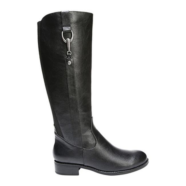 44f6c9d9efb Shop Life Stride Women s Xripley Riding Boot Wide Calf Black PU - On Sale - Free  Shipping Today - Overstock - 25560110