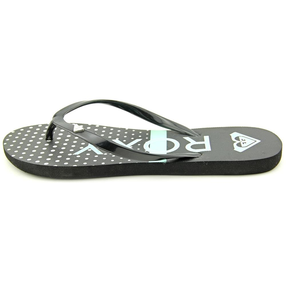 164860cde Shop Roxy Mimosa V Women Open Toe Synthetic Black Flip Flop Sandal - Free  Shipping On Orders Over  45 - Overstock - 13722736