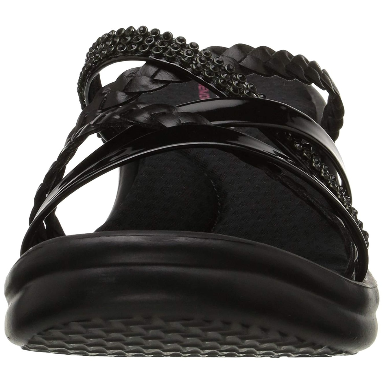59067f644b9a Shop Skechers Cali Women s Rumblers-Social Butterfly Wedge Sandal - 7 -  Free Shipping On Orders Over  45 - Overstock - 23446762