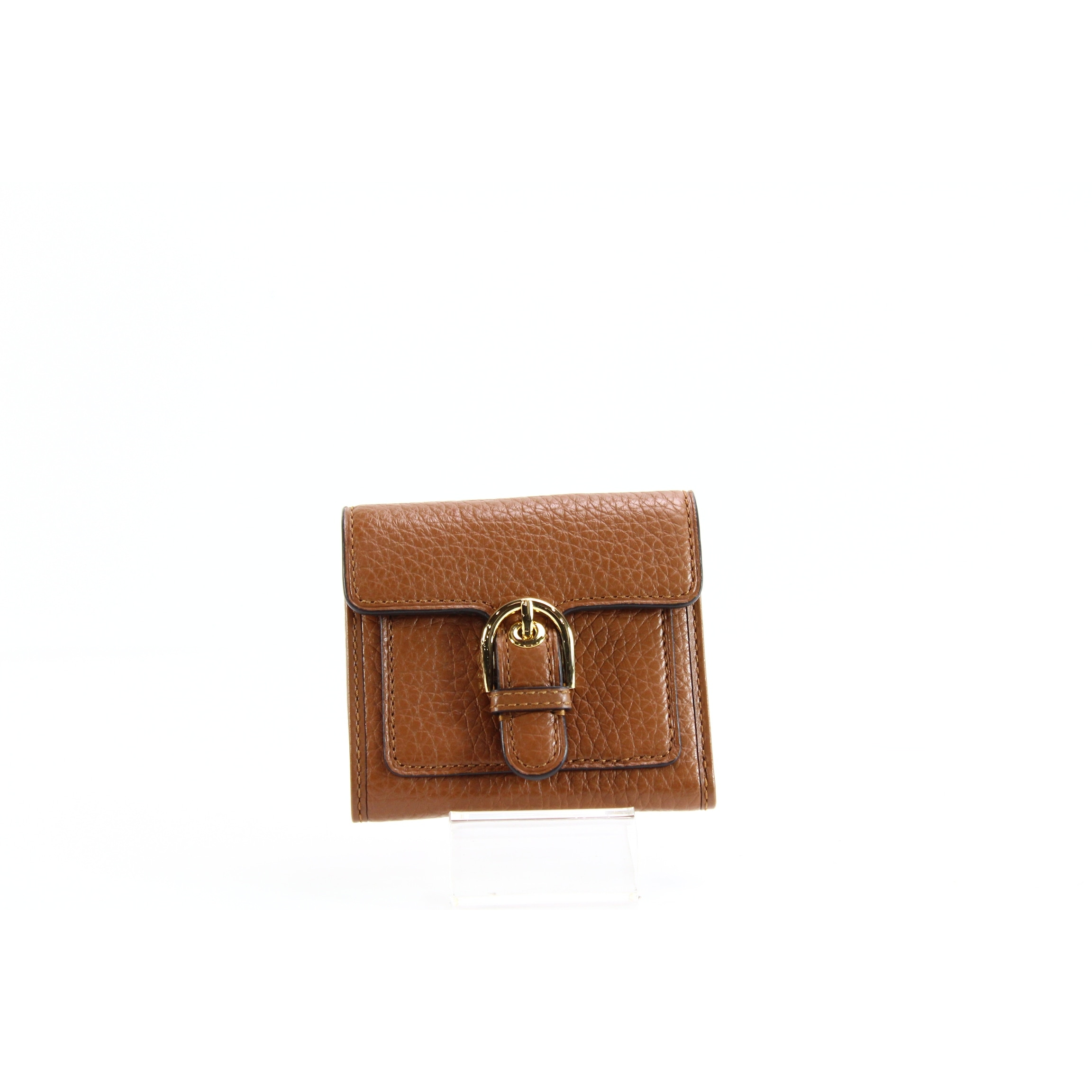 2dac16eda60b Shop Michael Kors NEW Brown Luggage Cooper Bifold Leather Carryall Wallet -  Free Shipping Today - Overstock - 20754090