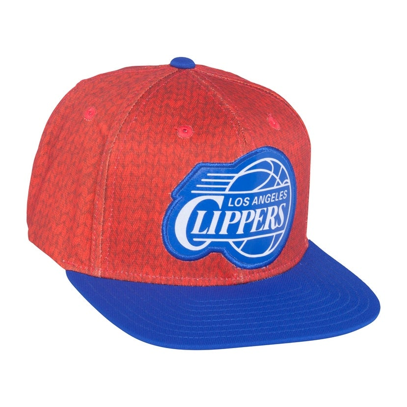 info for 147da fa3be Shop Los Angeles Clipper hat   adidas Los Angeles Clippers Christmas Day On- Court Impact Camo Snapback Hat - Red Royal Blue - Free Shipping On Orders  Over ...