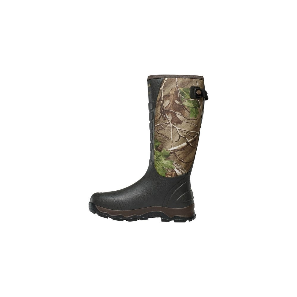 8187bf6b09b LaCrosse 4X Alpha Snake RealTree Xtra Green Boots With Removable  Polyurethane Footbed - Size 8