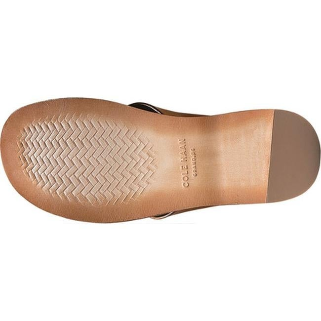 4d18a5ab351aa4 Shop Cole Haan Men s Goldwyn Crisscross Slide British Tan Smooth Leather -  Free Shipping Today - Overstock - 21656024
