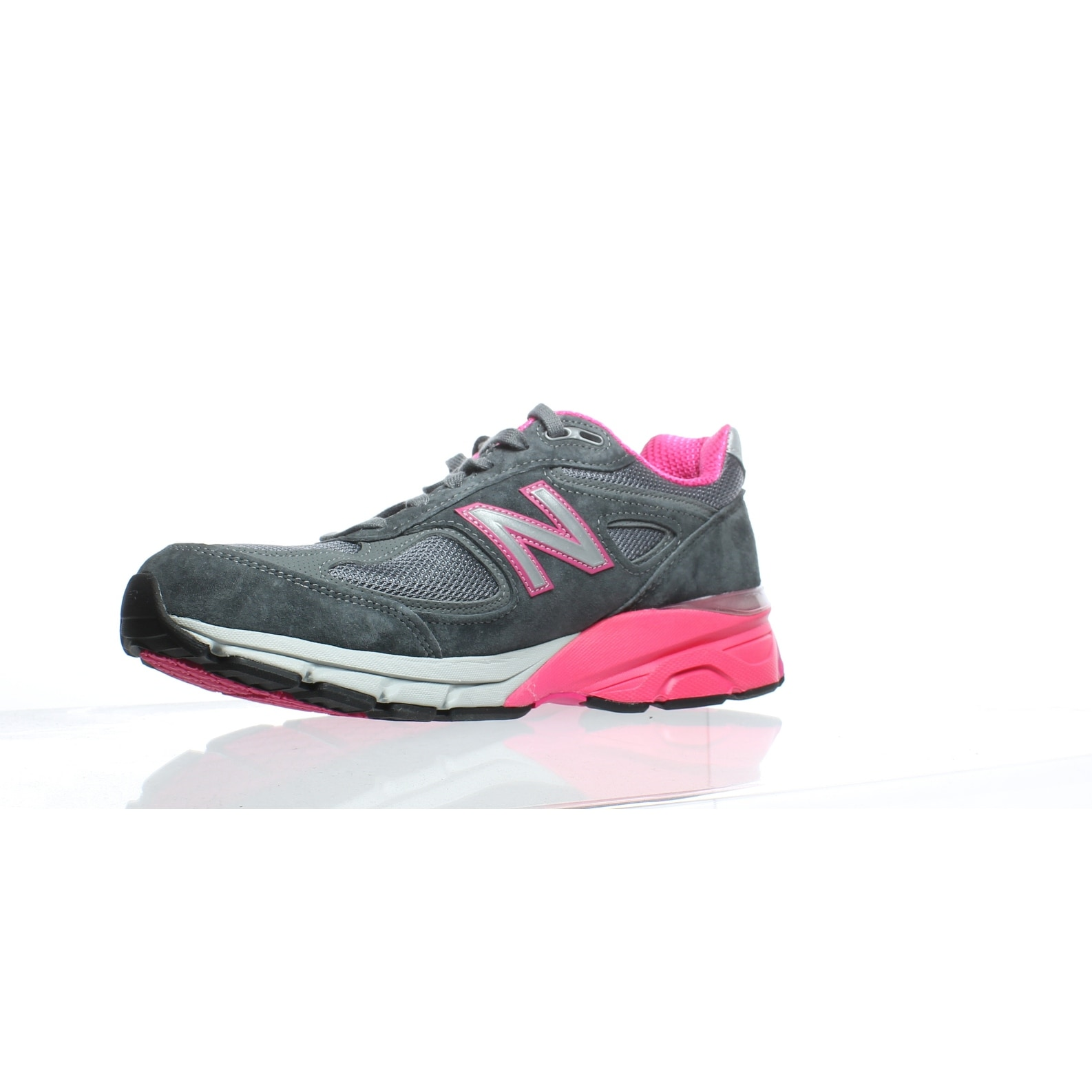 finest selection 44e32 4538d Balance Womens W990gp4 Grey/Pink Running Shoes Size 10 (C,D,W)