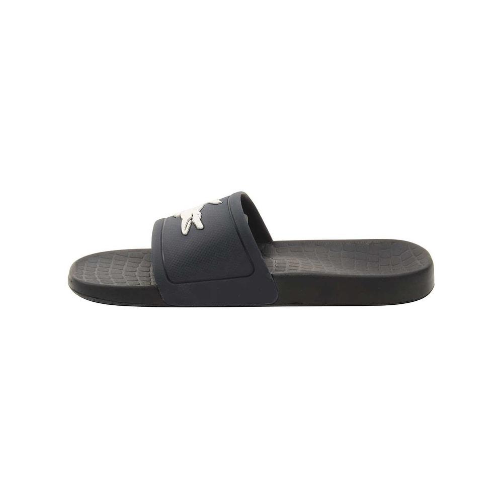 28ad76a2d Shop Lacoste Women s Fraisier 318 2 Slide Sandal - Free Shipping On Orders  Over  45 - Overstock.com - 22802612