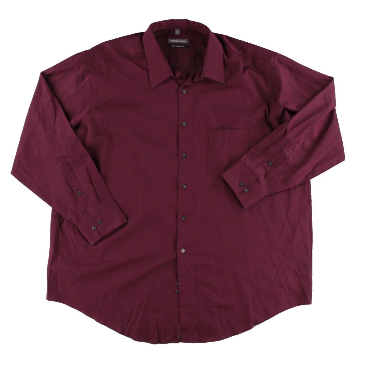 Shop Geoffrey Beene Mens Big Tall Dress Shirt Wrinkle Free Long