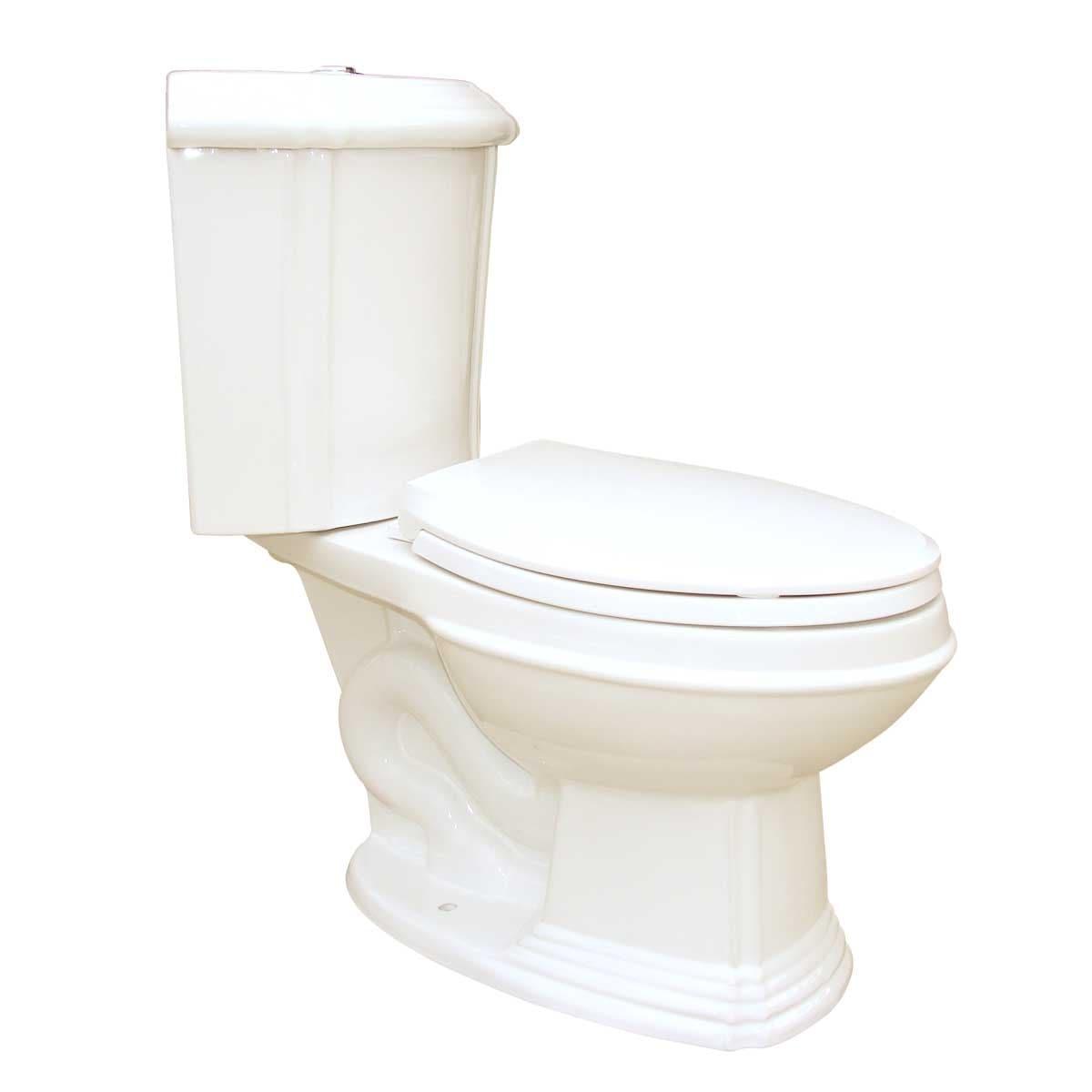 Shop Bone China Elongated Space Saving Corner Toilet | Renovator\'s ...