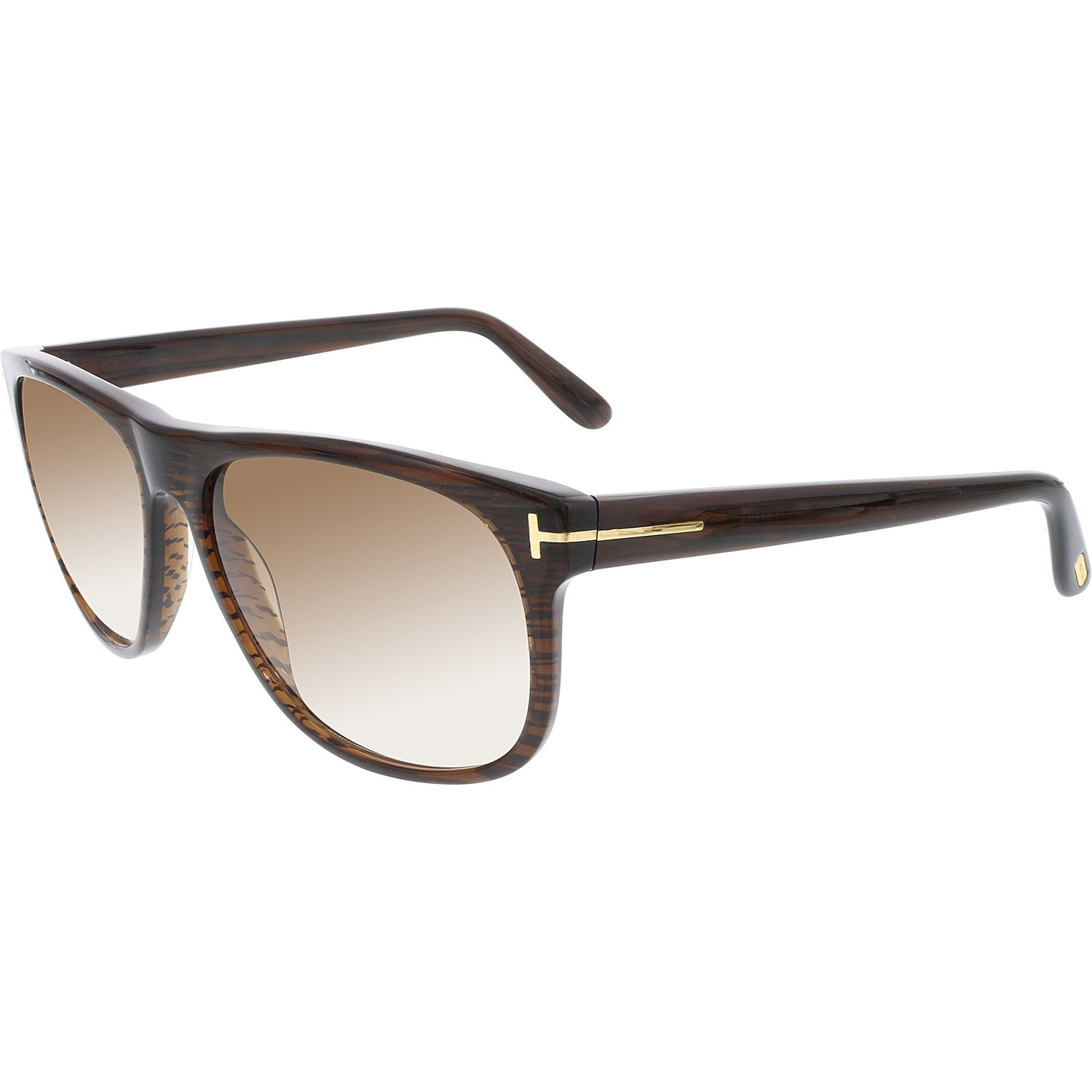 8bf52872c1 Shop Tom Ford Men s Olivier FT0236-50P-58 Brown Square Sunglasses - Free  Shipping Today - Overstock.com - 18901406